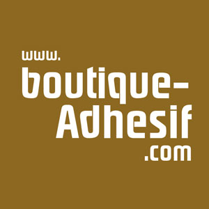 logo Boutique adhesif